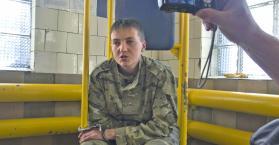 """الأسيرة و النائبة في البرلمان الأوكراني """"ناديجدا سافتشينكو"""""""