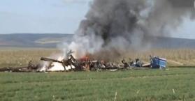 مقتل 5 أوكرانيين بتحطم طائرة مروحية في رومانيا
