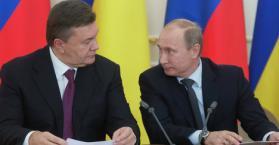 يانوكوفيتش يبحث مع بوتين خفض أسعار الغاز الروسي المصدر إلى أوكرانيا