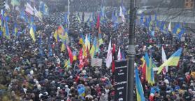 أجواء الثورة تعود إلى أوكرانيا، والشرارة شراكتها مع أوروبا