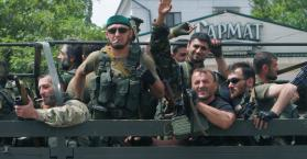 الشيشانيون يقاتلون بعضهم البعض في شرق أوكرانيا