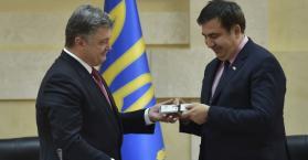 """سآكاشفيلي يعين محافظا لأوديسا، وروسيا تقول إن هذه خطوة ستؤدي إلى """"تدمير أوكرانيا"""""""