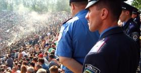 دورات لتعليم شرطة أوكرانيا الإنجليزية قبل بطولة اليورو 2012