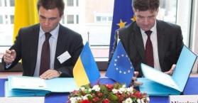 إبرام اتفاق للتبادل التجاري الحر بين الاتحاد الأوروبي وأوكرانيا