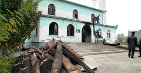 للمرة الثانية خلال يومين.. مجهولون يحرقون مسجدا في إقليم القرم جنوب أوكرانيا