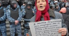 """عمال إغاثة """"تشرنوبل"""" يقتحمون مبنى البرلمان الأوكراني"""