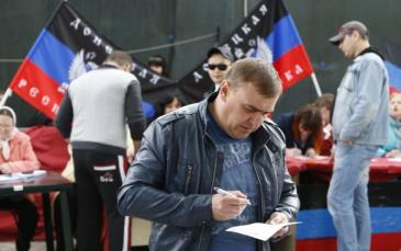 لن نعترف بانتخابات شرقي اوكرانيا و روسيا ترحب بها