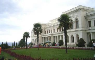 قصر ليفاديا في مدينة يالتا