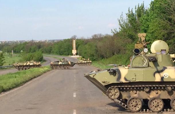 معارك ضارية شرق أوكرانيا و الجيش الأوكراني يستعيد كراماتورسك