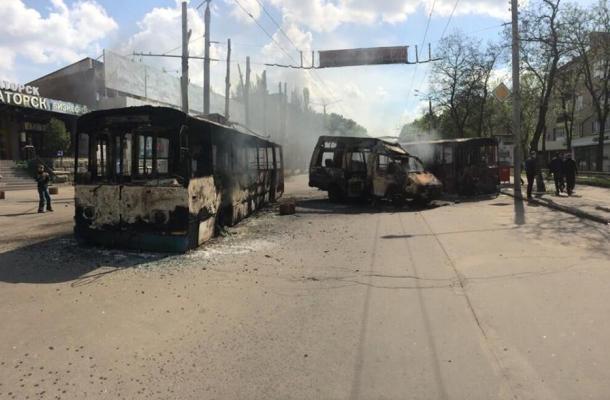 معارك ضارية بمدينة كراماتورسك و الجيش الأوكراني يدخل المدين