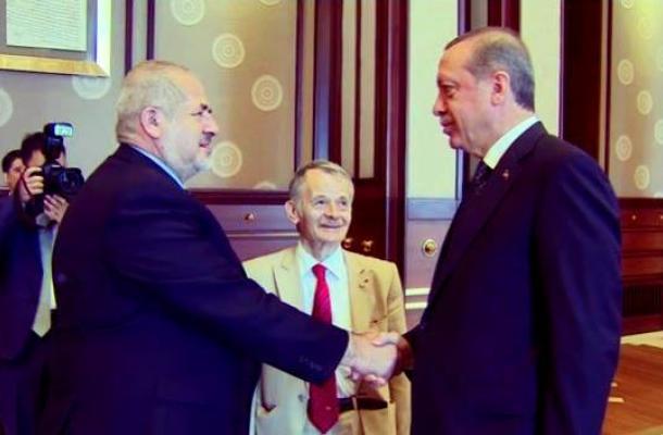 رجب طيب أردوغان يستقبل رفعت تشوباروف