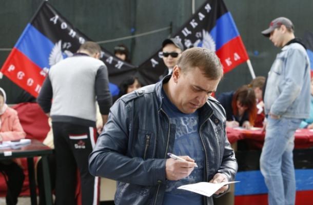 أمريكا وأوروبا: لن نعترف بانتخابات شرقي اوكرانيا و روسيا ترحب بها