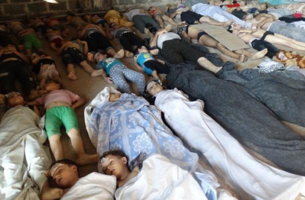 مجزرة بالأسلحة الكيميائية في سوريا.. أوكرانيا قلقلة، ومسلموها يدعون لإنهاء المأساة