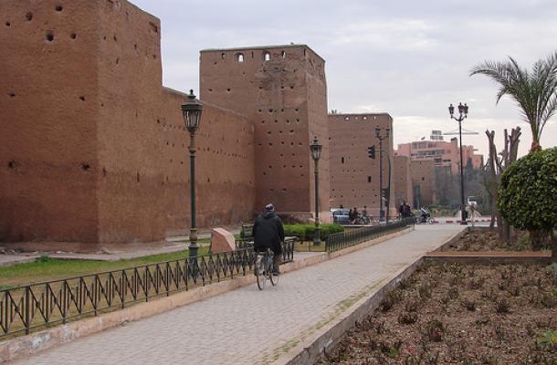 شركات سياحية أوكرانية تبحث عن فرص لزبائنها في مدينة مراكش المغربية