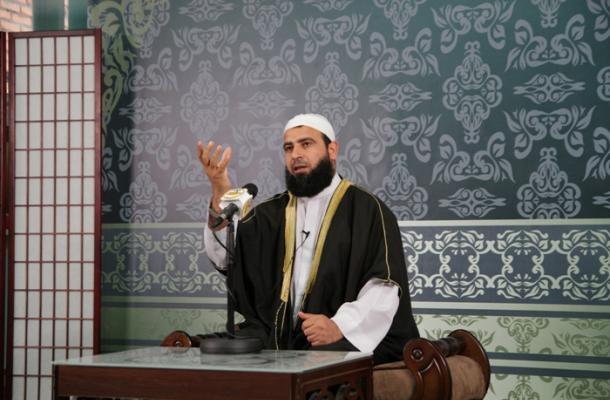 أحد الدروس الرمضانية في المركز الثقافي الإسلامي بالعاصمة كييف