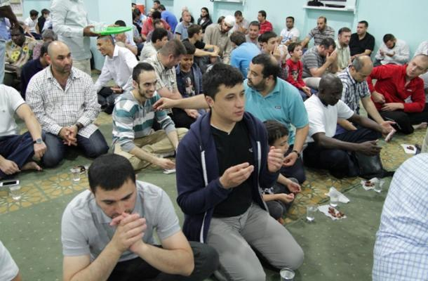 رمضان في العاصمة كييف