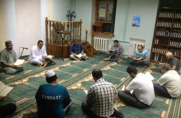 """رمضان في مسجد """"المسار"""" بمدينة أوديسا"""