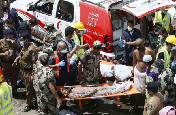 """سفارة السعودية في كييف تصدر بيانا حول حادثة التدافع في """"منى"""" والاتهامات الإيرانية"""