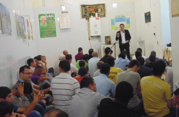 """العيد في مسجد """"النبراس"""" بمدينة لفيف"""