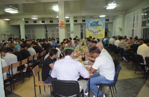 رمضان في مدينة دونيتسك