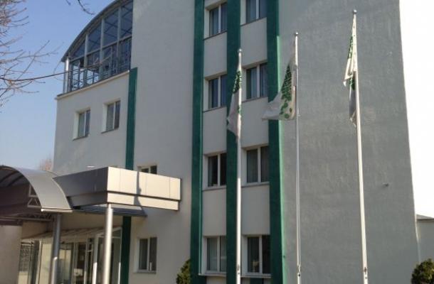 مبنى معهد العلاج بالخلايا الجذعية في العاصمة كييف
