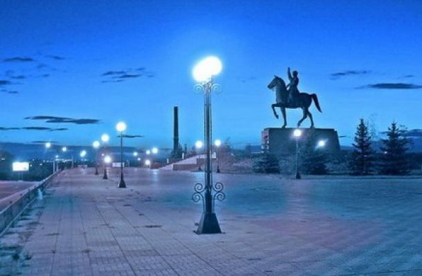 مدينة لوهانسك في أوكرانيا