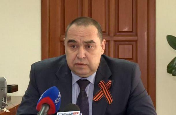 """قائد انفصاليي لوهانسك يرى أن """"الانضمام الى روسيا أمر لابد منه"""""""