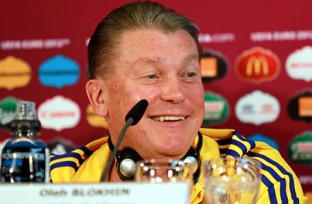 بلوخين سيستمر بتدريب منتخب أوكرانيا رغم خروجه المبكر من بطولة اليورو