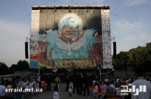 اللوحة هي الأكبر في تاريخ البشرية بمساحة 310 متر مربع