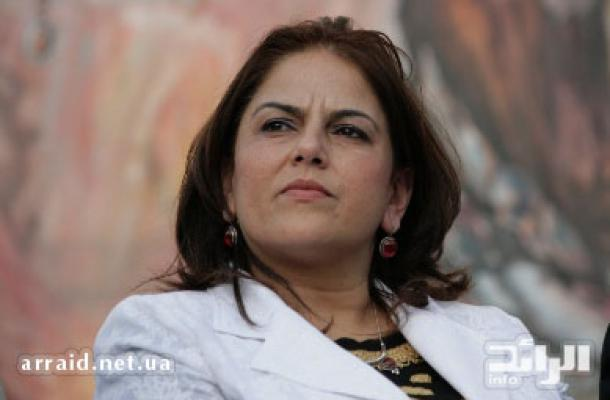 د. خلود دعيبس وزيرة السياحة الفلسطينية حضرت الاحتفال