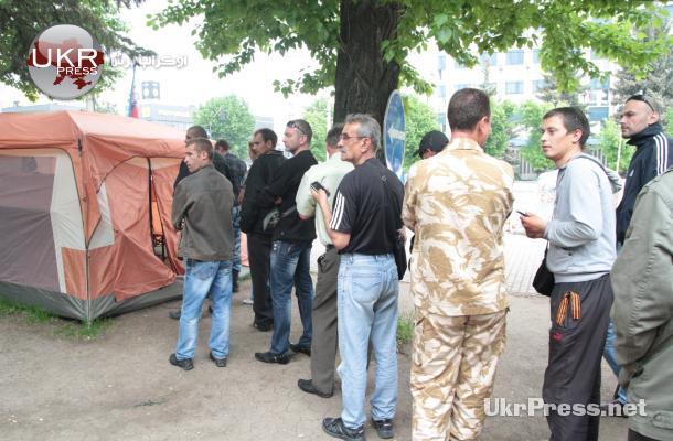 استفتاء شرق أوكرانيا بلا شرطة ولا مراقبين
