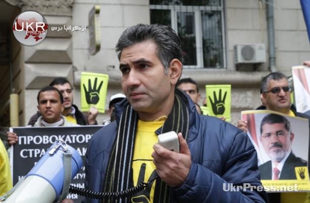 محمد قاسم نائب رئيس الجالية المصرية في كييف