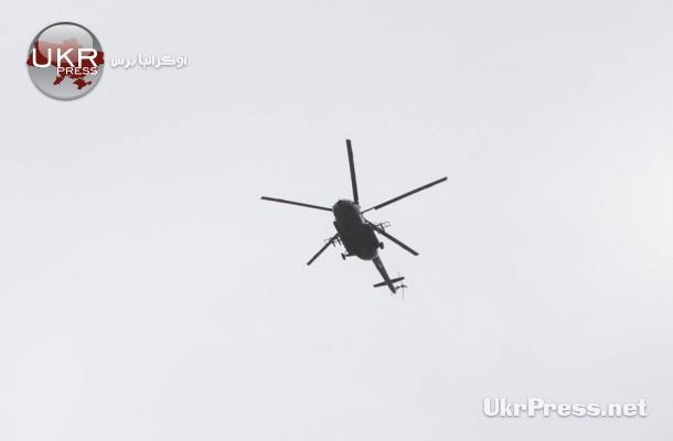 طائرة تراقب مظاهرات إحياء التتار لذكرى تهجيرهم