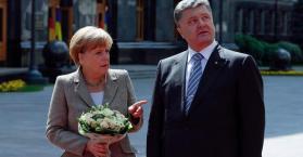 ميركل تصل كييف في زيارة لأول مرة منذ إندلاع الأزمة فيها