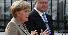 ميركل تناشد روسيا استغلال نفوذها لدى الانفصاليين لانهاء الأزمة في أوكرانيا