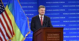 بوروشينكو يدعو للحد من حق الفيتو بمجلس الأمن وانضمام أوكرانيا إلى الاتحاد الأوروبي