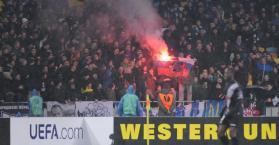 الاتحاد الأوروبي لكرة القدم يحقق في اتهامات بالعنصرية ضد دينامو كييف الأوكراني