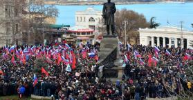 """جدل ومخاوف بعد """"تلميحات انفصالية"""" في أوكرانيا"""