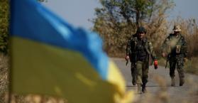 مقاتلين من الجيش الأوكراني شرق البلاد