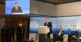 كلمة الرئيس الأوكراني في مؤتمر ميونيخ