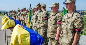 الجيش الأوكراني يعطي آخر حصيلة لعدد قتلاه في مناطق النزاع بالدونباس