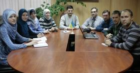 """فريق العمل في """"أوكرانيا برس"""" يطلق نسخة جديدة من الموقع"""