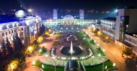 مدينة خاركيف في أوكرانيا