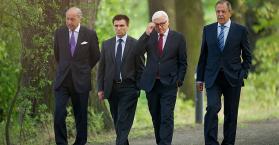 """آمال ومخاوف في لقاء وزراء خارجية """"رباعية النورماندي"""" حول الأزمة الأوكرانية"""