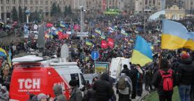 الإضراب سلاح المعارضة الأوكرانية لكسب المعركة السياسية