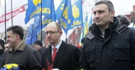 """المعارضة تستأنف الخميس مسيراتها الاحتجاجية تحت شعار """"انهضي أوكرانيا"""""""