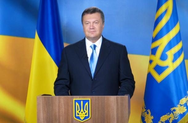 يانوكوفيتش في الذكرى 21 للاستقلال: أوكرانيا مصممة على عضوية الاتحاد الأوروبي